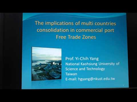 Dr. Yang's Maritime Business Research Center/ MCC in Commercial Port Free Trade Zone