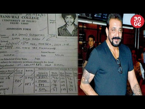 Shahrukh Khan's Report Card Goes Viral | Sanjay Dutt Leaves For Dubai