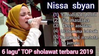 "FULL ALBUM NISSA SBYAN SHOLAWAT TERPOPULER 6 LAGU"" TERBAIK TERBARU  2019"