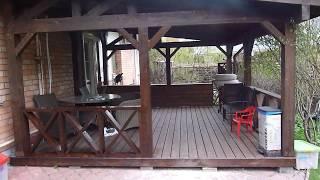 видео Веранда, пристроенная к дому