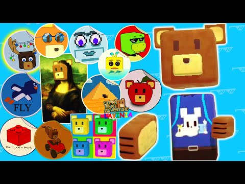 Обновление Super Bear Adventure Где спрятаны Стикеры! Смешные стикеры в Супер Беар Адвенчер!