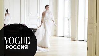 Свадьбы Vogue. Фабиола Беракаса в ателье Givenchy