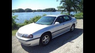 Test Driving A 2001 Chevrolet Impala
