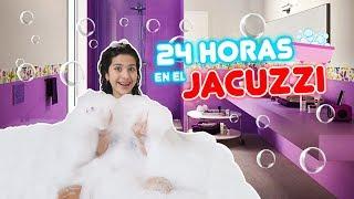 24 HORAS EN EL JACUZZI 🛁 (VÍDEO QUE YOUTUBE ME CENSURÓ😱🚫)  |  Leyla Star 💫