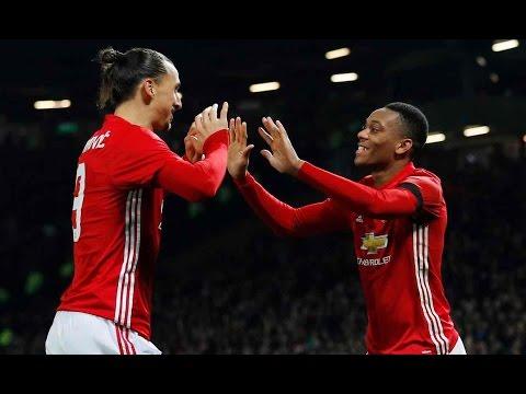 Manchester United vs West Ham 4-1 All Goals - EFL Cup 30/11/16 | HD