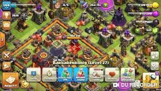 Omg Goldpass fertig, den Gladiatorenkönig freischalten!😍😍 (Clash of Clans deutsch)