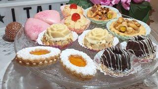 حلويات العيد 2020/بعجينة واحدة خرجت 6 اشكال #لحلوة راقية #بأذواق #مختلفة👌#بكميات كبيرة