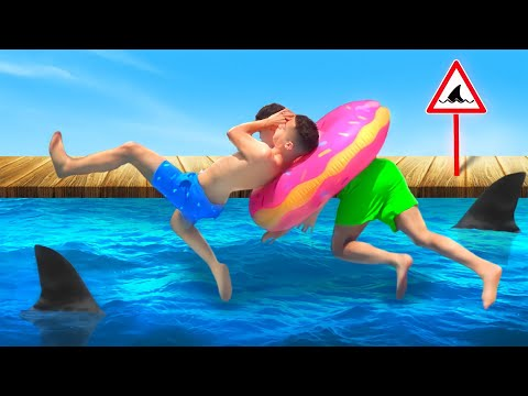 WWE MOVES IN THE POOL 2
