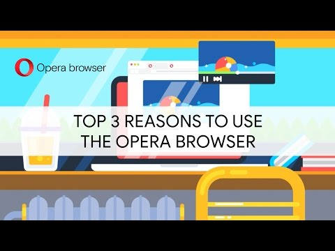 Top 3 reasons to use the Opera browser | BROWSER FOR COMPUTER | OPERA