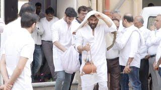 Sunil Shetty के पिता  Veerappa का अंतिम संस्कार  Full Video HD - Amitabh,Abhishekh,Jackie Shroff