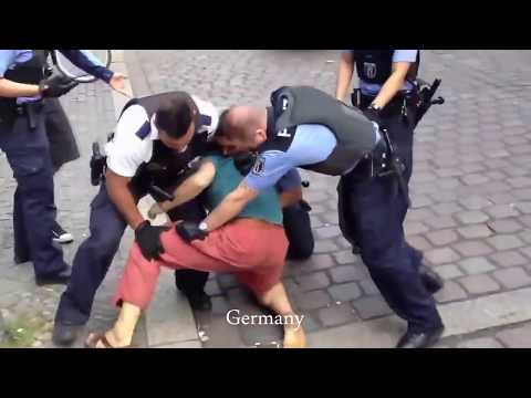 How different countries deal with: People resisting during their arrest