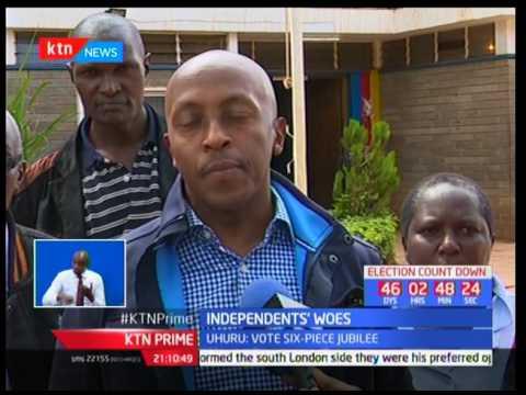 IEBC's ballot printing tender saga moves to the judicial corridors as NASA files case: KTN Prime p1