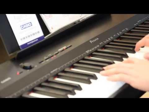 Kuljaesol : รีวิว เปียโนไฟฟ้า CASIO PX160 | ตอนที่2