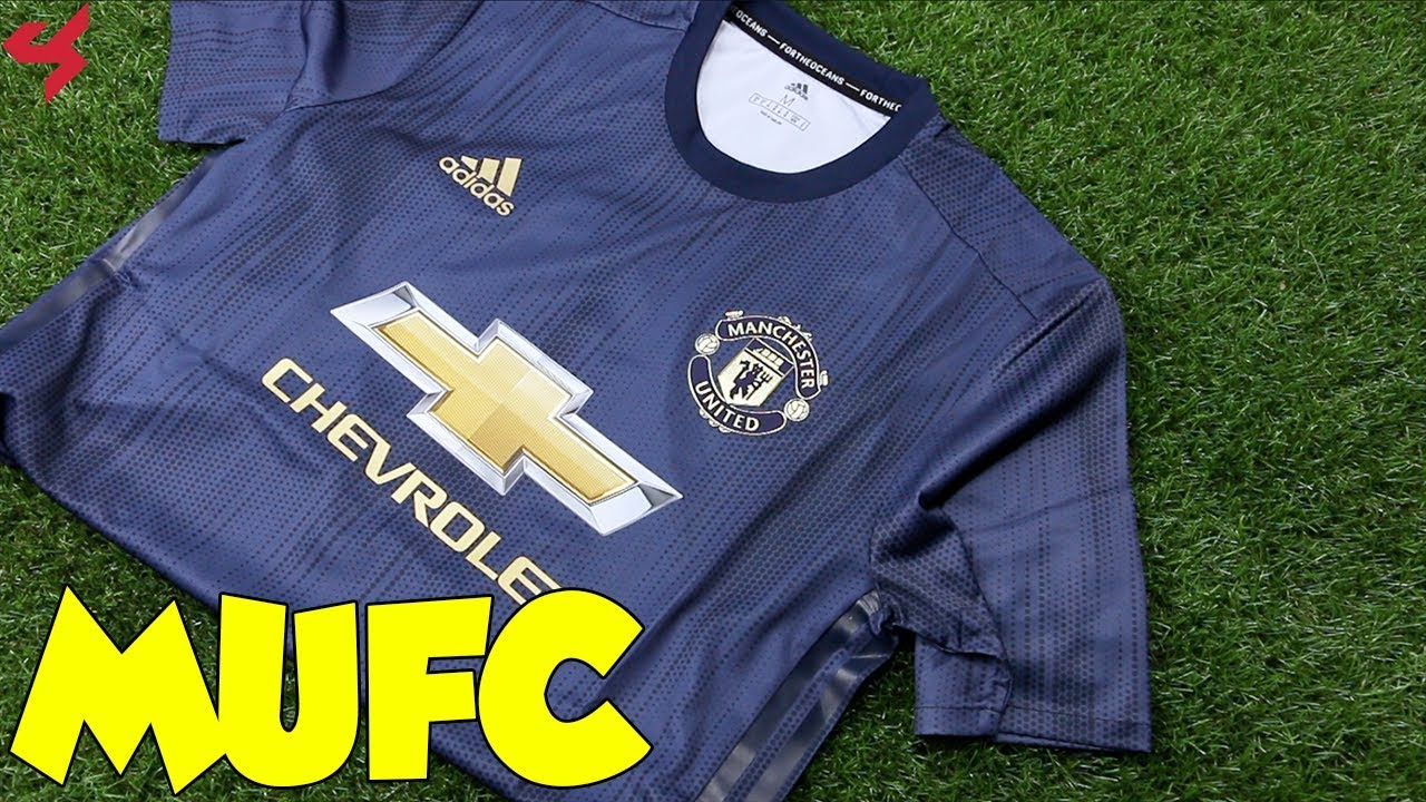 72bd385c Adidas Manchester United 2018/19 Third Jersey Unboxing + Review ...