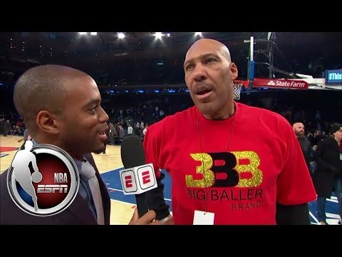 LaVar Ball talks Spike Lee, Lithuania, Lonzo and Lakers vs. Knicks | NBA on ESPN