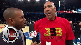 LaVar Ball talks Spike Lee, Lithuania, Lonzo and Lakers vs. Knicks   NBA on ESPN