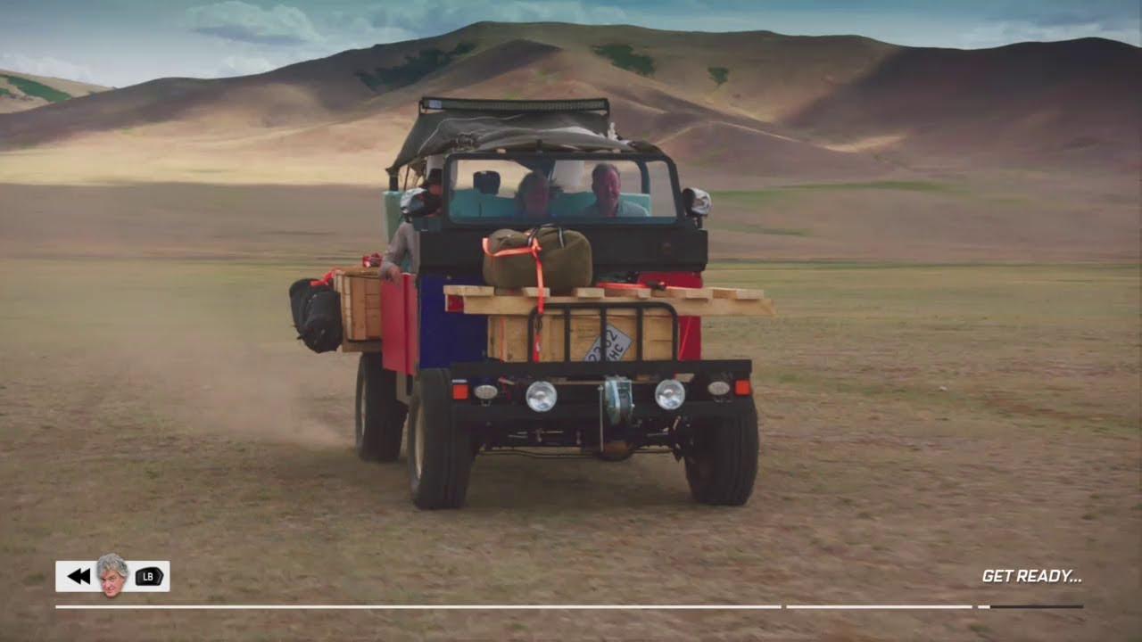 the grand tour mongolia car