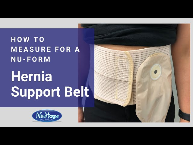 How to Measure for a Nu-Form Hernia Support Belt