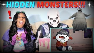 "TheOdd1sOut ""Monsters You Didn't Know Were Under Your Bed"" REACTION!!!"