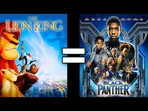 24 Reasons The Lion King & Black Panther Are The Same Movie