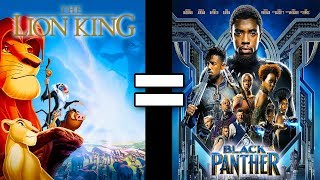 24 reasons the lion king black panther are the same movie