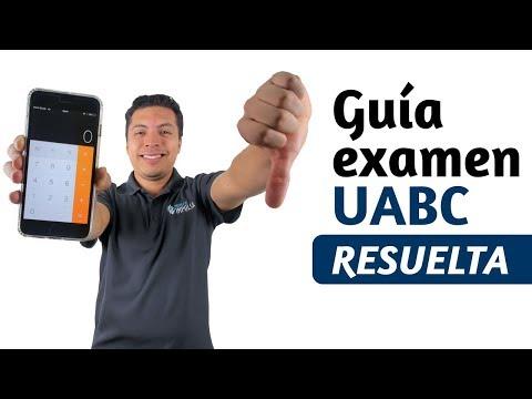 Examen UABC - Guía UABC Resuelta 2018 y 2017 PDF - Curso examen UABC Proyecto Impulsa