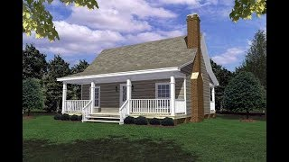 Cottage House Plan 59039 at FamilyHomePlans.com