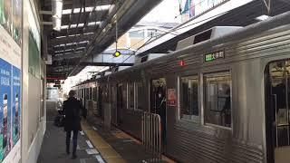東急8500系8641F 自由が丘駅発車
