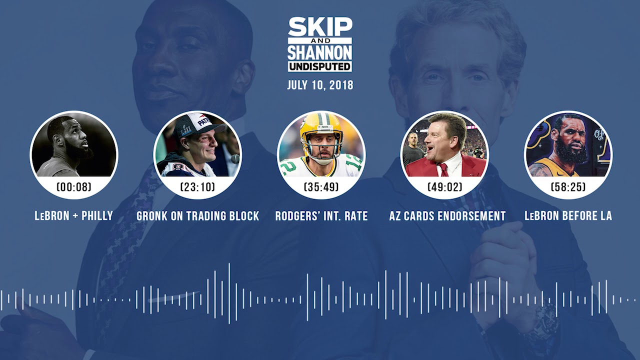 UNDISPUTED Audio Podcast (7.10.18) with Skip Bayless and Shannon Sharpe | UNDISPUTED