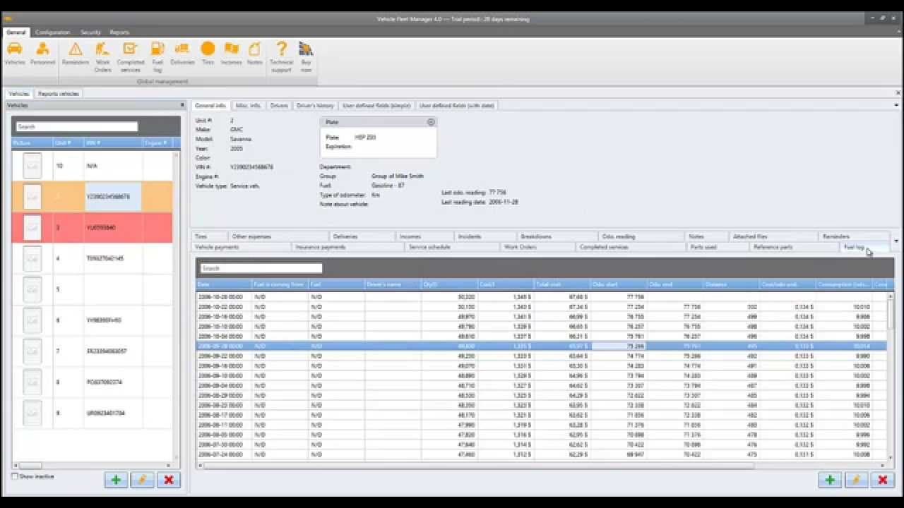 Vinitysoft Vehicle Fleet Manager Free Download