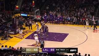 3rd Quarter, One Box Video: Los Angeles Lakers vs. New Orleans Pelicans