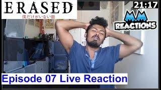PLEASE DON'T DO THIS!! - Erased Anime Episode 7 Live Reaction (Boku dake ga Inai Machi)