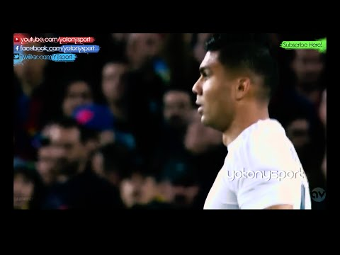 Casemiro vs Barcelona Away 02.04.2016 [HD]