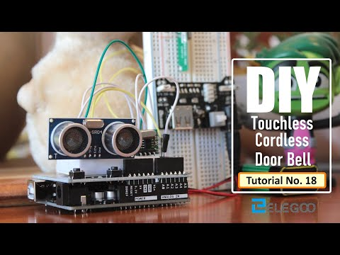 Contactless Cordless Bell Using Arduino, RF, IR and Ultrasonic Sensor