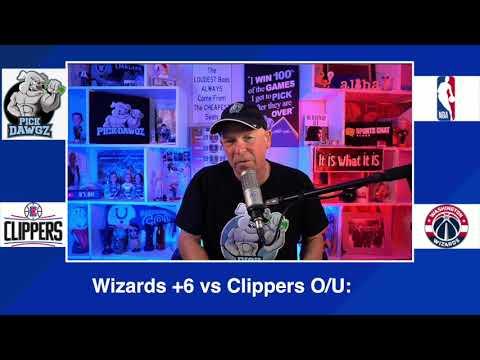 Washington Wizards vs Los Angeles Clippers 3/4/21 Free NBA Pick and Prediction NBA Betting Tips