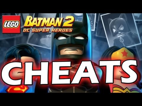 LEGO Batman 2 : DC Super Heroes Bonus Episode  #4 - CHEATS