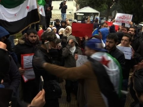 Protests in Jordan Over Russia's Role in Syria