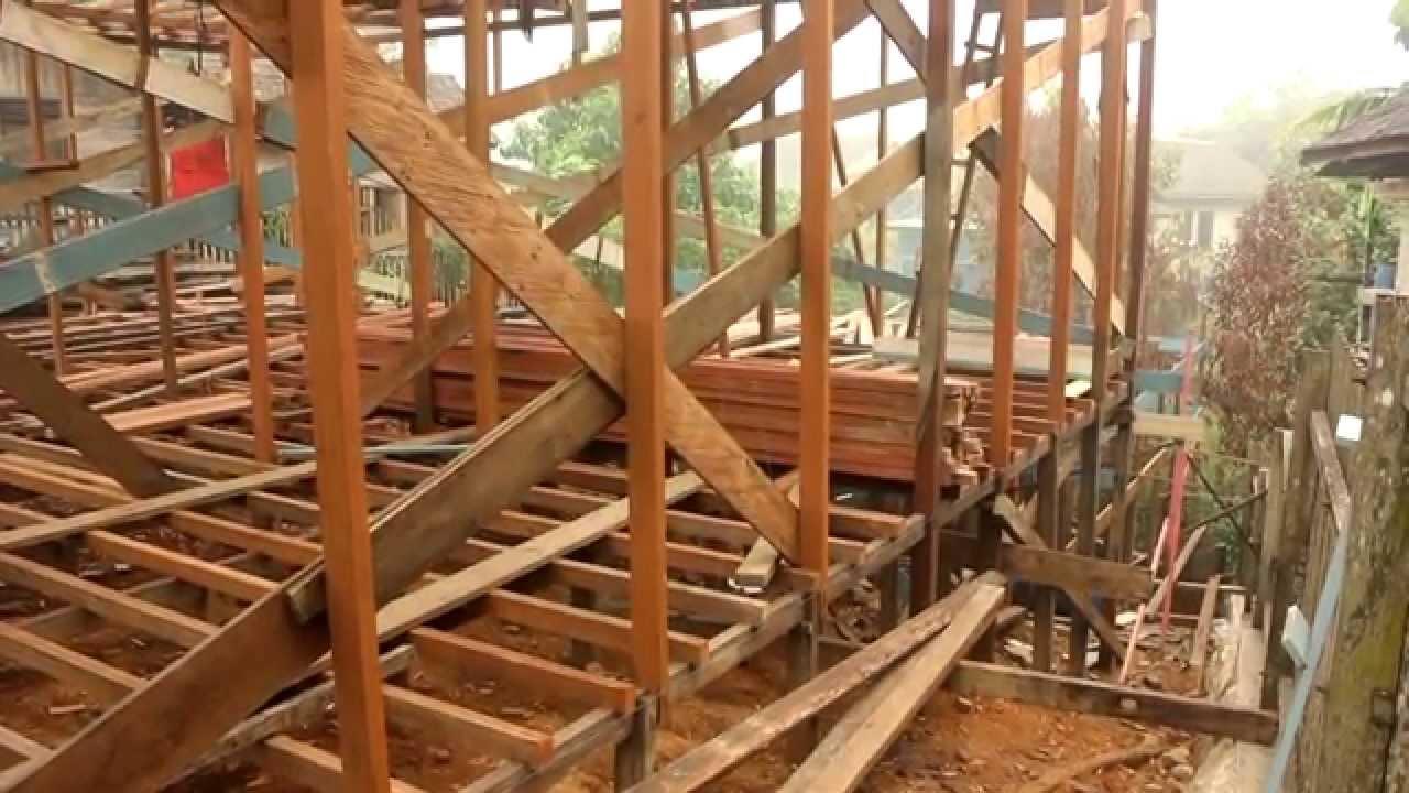Kerangka Bangunan Rumah Walet Tingkat 2 YouTube