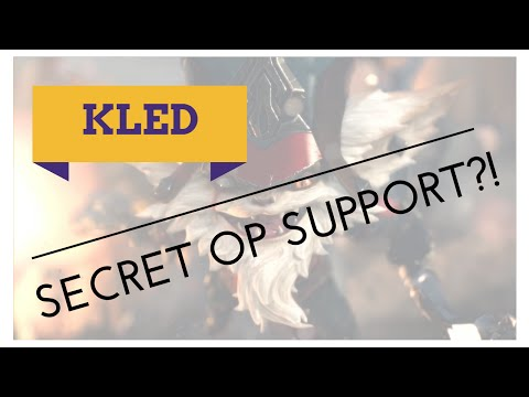 Is Kled secretly a SUPPORT?!  [Patch 6.16]