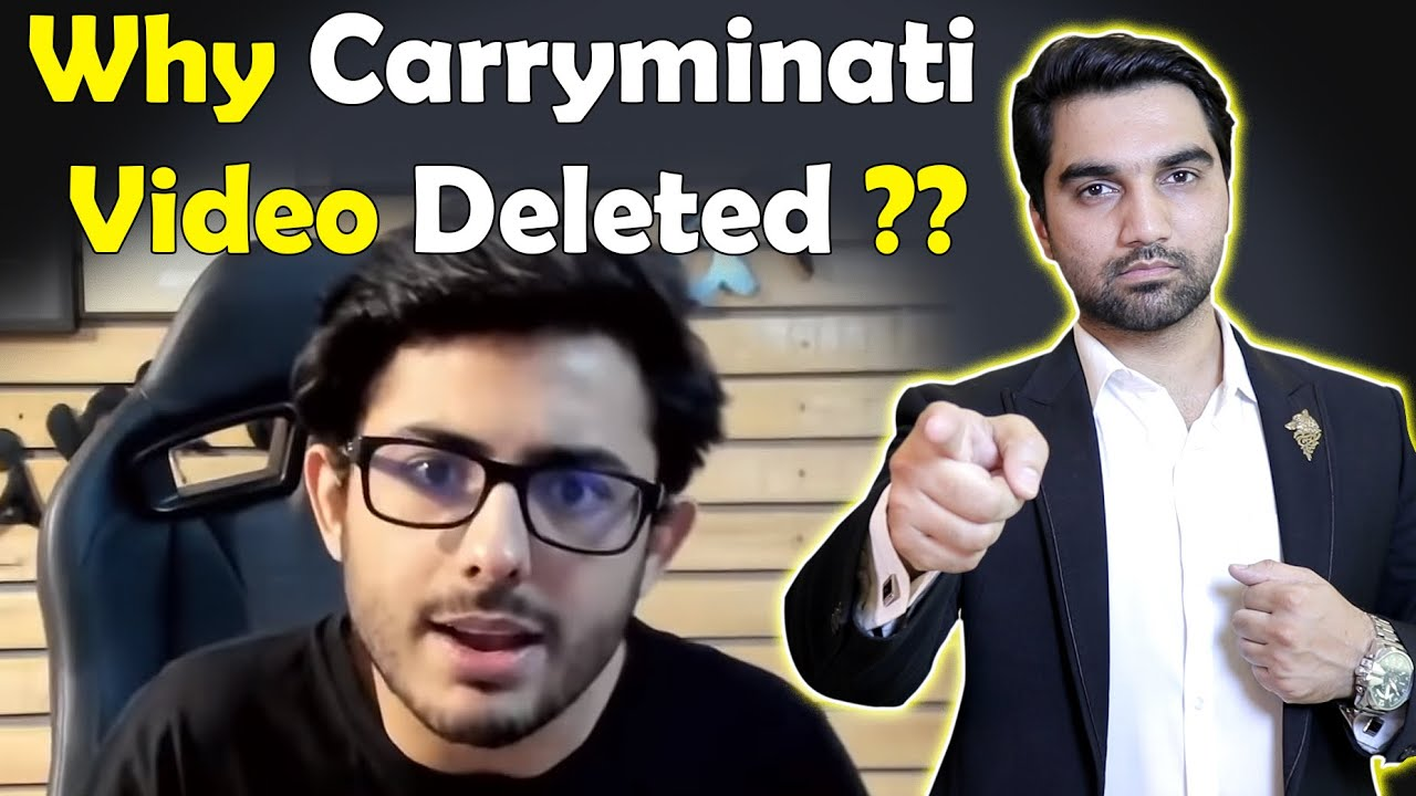 Why Carryminati S Video Deleted No More Roasting Videos On Youtube Mr Noman Aleem Youtube
