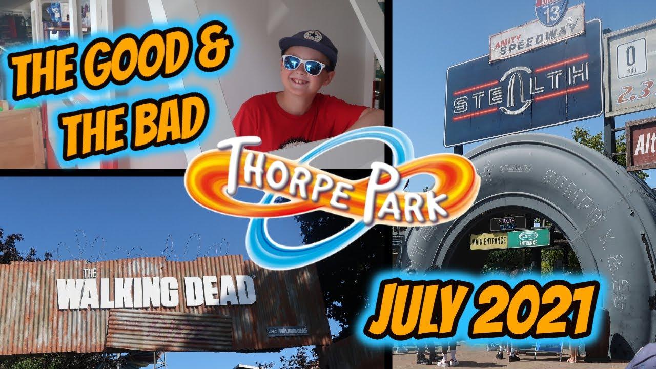 Thorpe Park | Best Rides, Worst Park | 17th July 2021