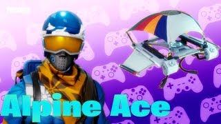 BRINCANDO com a pele * Alpine Ace * FORTNITE