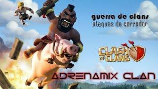 Clash of clans - Guerra de clans - Ataques de Corredor