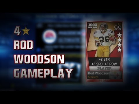 Madden 13: 4 Star Rod Woodson Is The Best CB In MUT- My Thoughts On The Card-