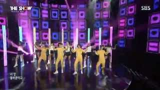 【1080i HD Live】T-ARA(티아라) & Chopsticks Brothers - Little Apple @SBS 인기가요 Special Stage