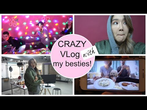 VLog with My Best Friends | Me At Karaoke, My Fave Youtuber, Eating Korean Fried Chicken