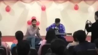Hindi songs mashup on guitar..... Farewell party at Spn college mukerian.