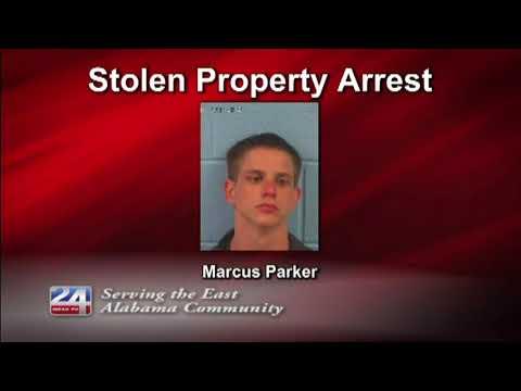 Gadsden Man Arrested for Receiving Stolen Property
