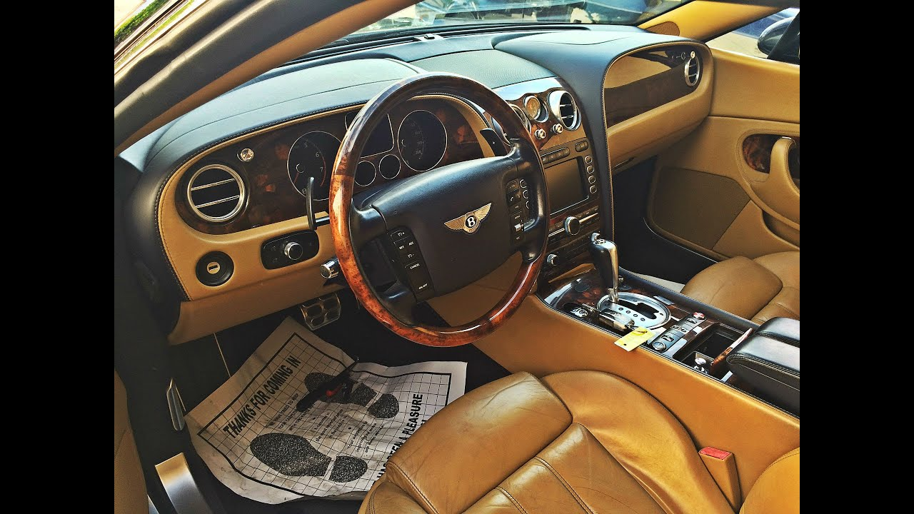 Bentley Continental Gt Convertible Interior Repair Youtube