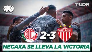Resumen y Goles | Toluca 2 - 3 Necaxa | Liga Mx - CL 2020 - J2 | TUDN